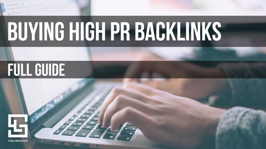 buy backlinks high pr
