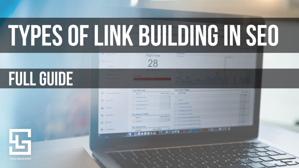 how many types of link building in seo